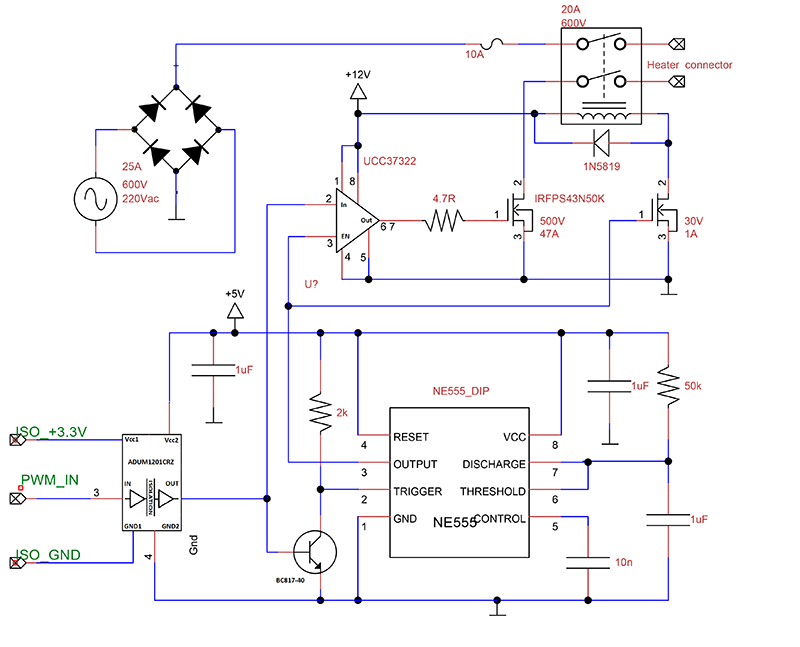 How To Make A Simulation For Wireless Power Transfer Circuit In Hfss High Frequ together with Simple High Level Water Alarm additionally Need Gate Driver For Mosfet Irf540 And Microcontroller in addition Low Battery Level Circuit Changing Trigger Level additionally How To Clean Up A Noisy Signal. on make a simple circuit
