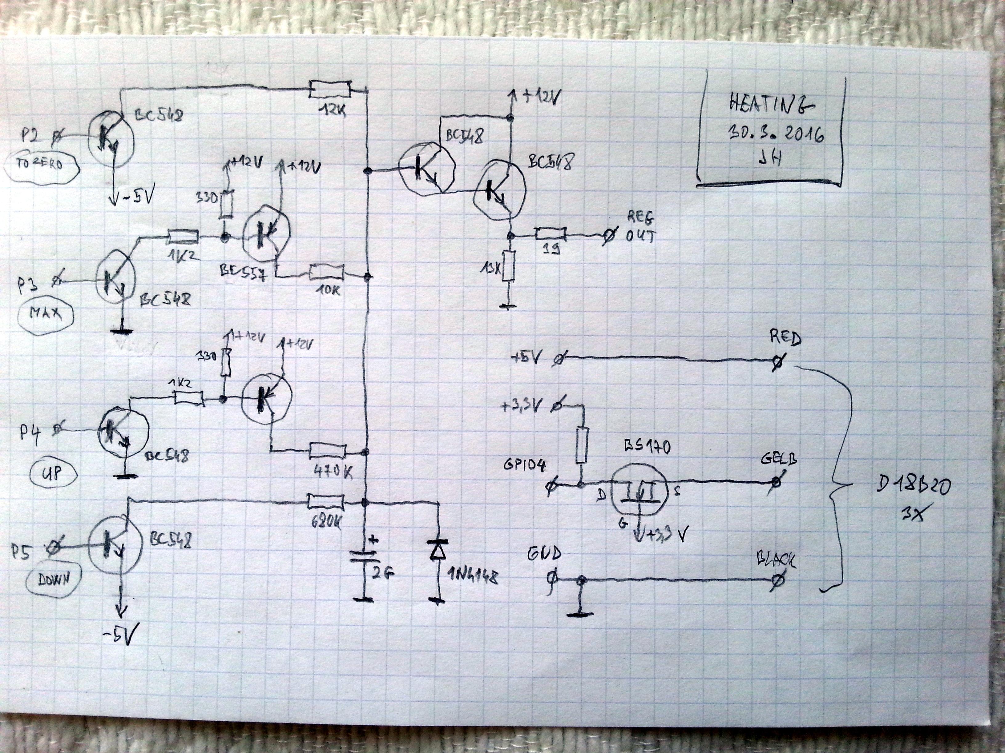 Raspberry Pi Heating Controller
