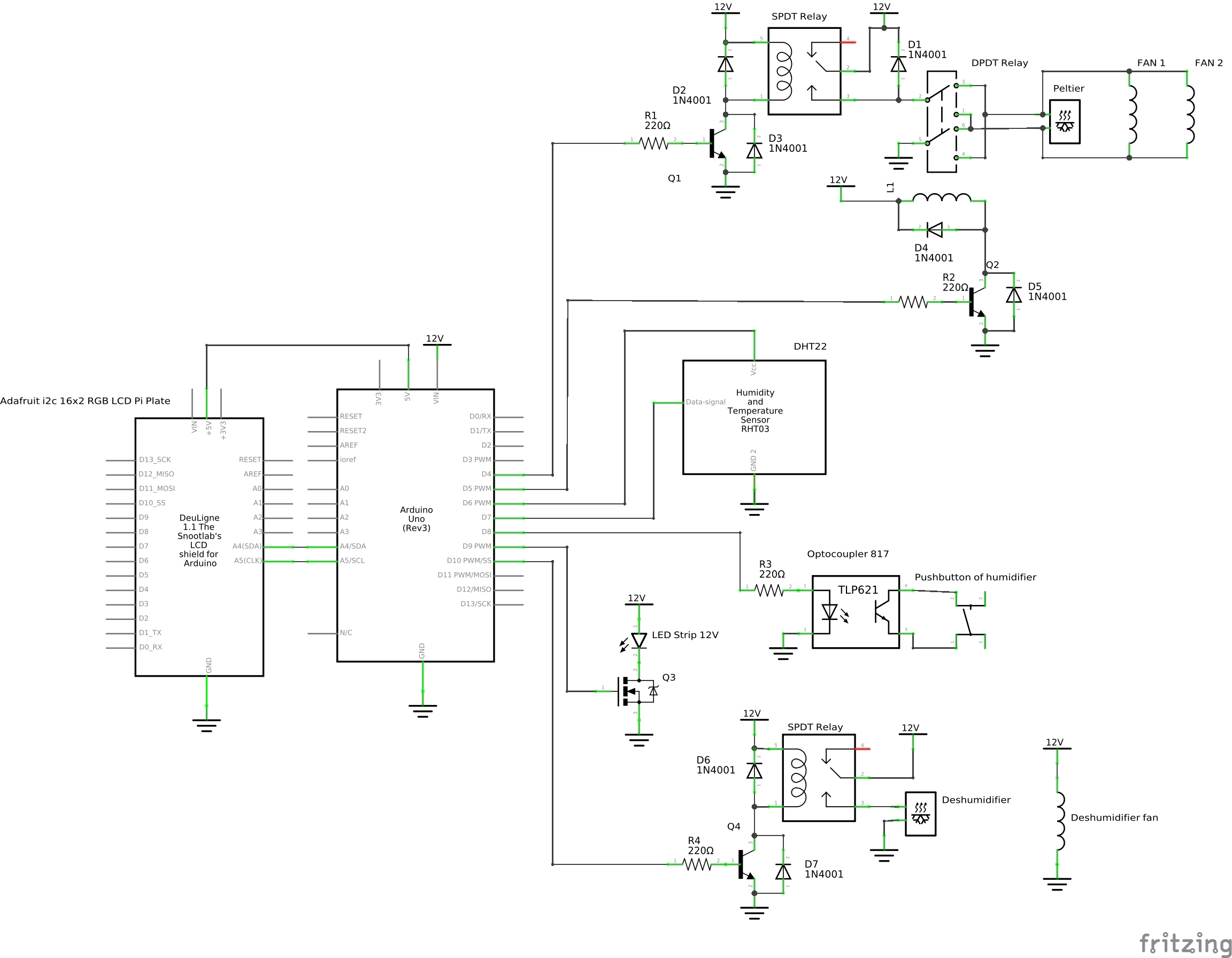 Refrhumidigerator Dpdt Relay For Arduino Download