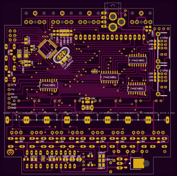 Files | Arduino Urbium Sequencer MIDI CV GATE 8 STEPS