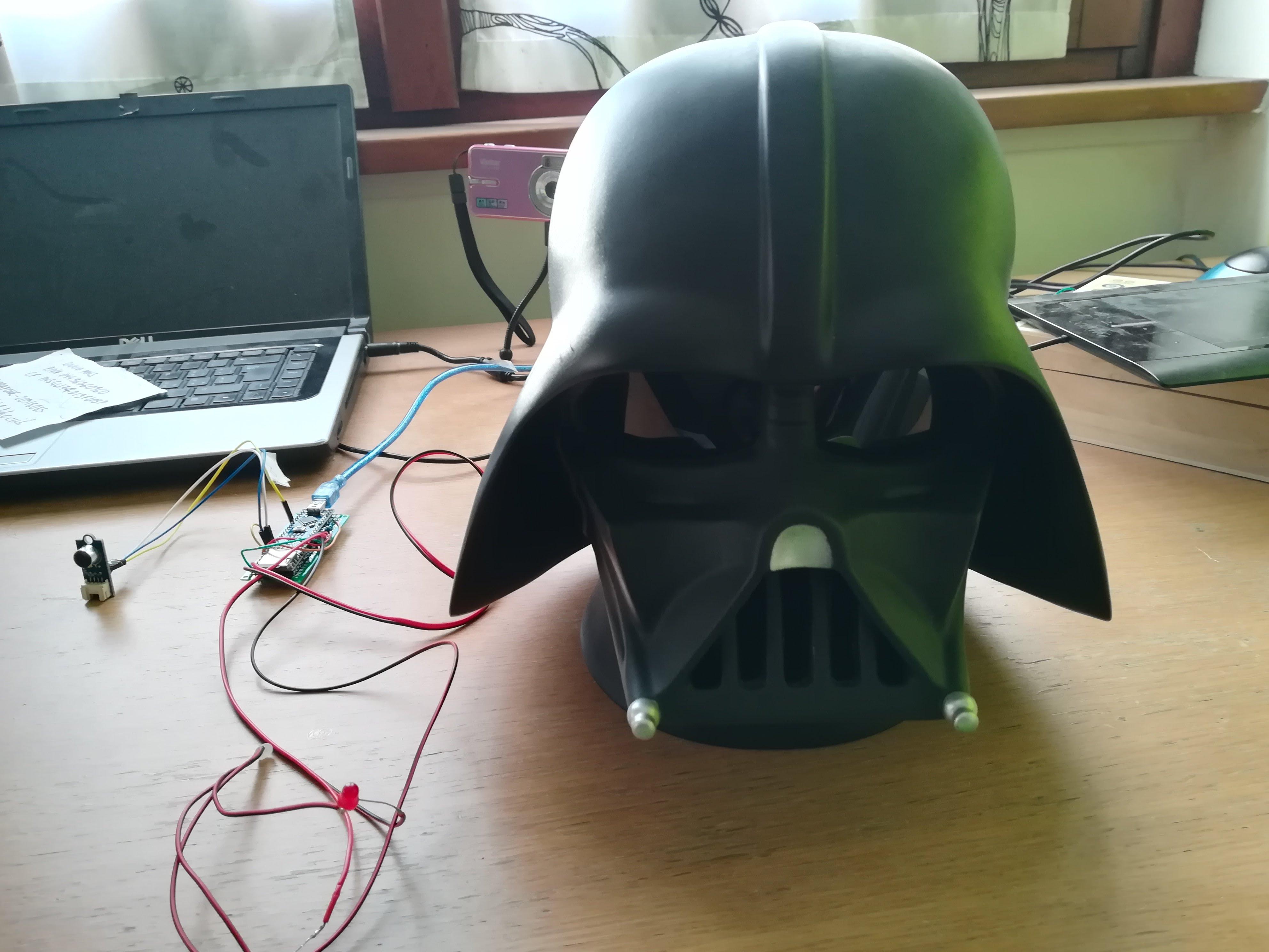 Files | Darth Vader talking head | Hackaday io