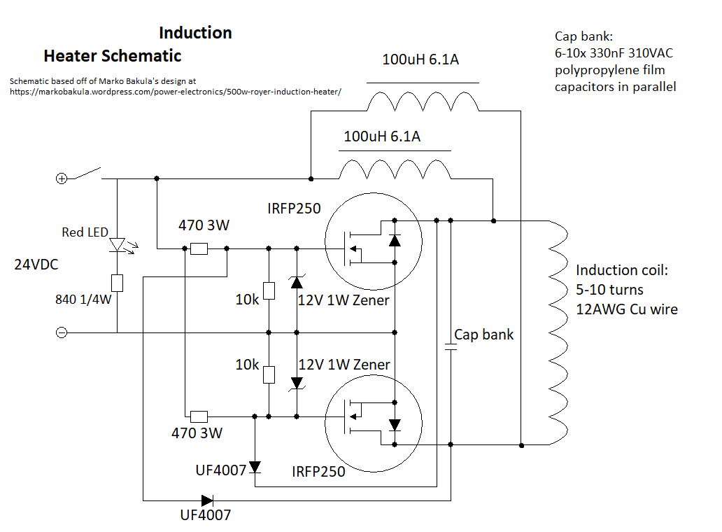 Induction Heater | aday.io on ccfl inverter schematic, electric motor schematic, electronic speed control schematic, induction heating, phase converter schematic, homemade plasma cutter schematic, shunt schematic, pulse induction metal detector schematic, induction diagram, h bridge schematic, simple heating circuit schematic, igbt schematic, induction motor schematic, induction generator schematic, zvs driver schematic,