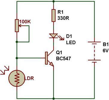 light detector using ldr hackaday io