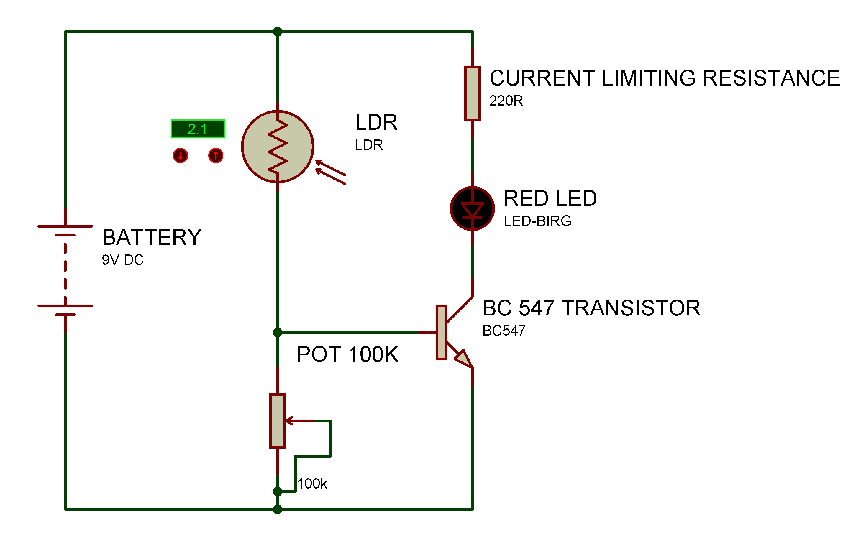 Light detector using LDR | Hackaday.io