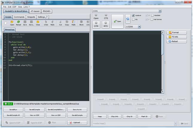 LuaNode For ESP32   Hackaday io