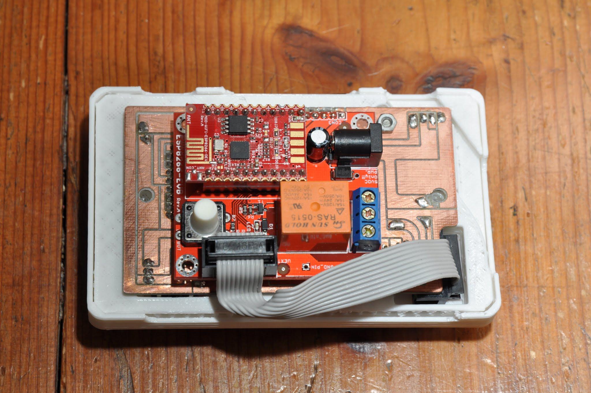 SST - ESP8266 Smart Thermostat WiFi IoT ready | Hackaday io