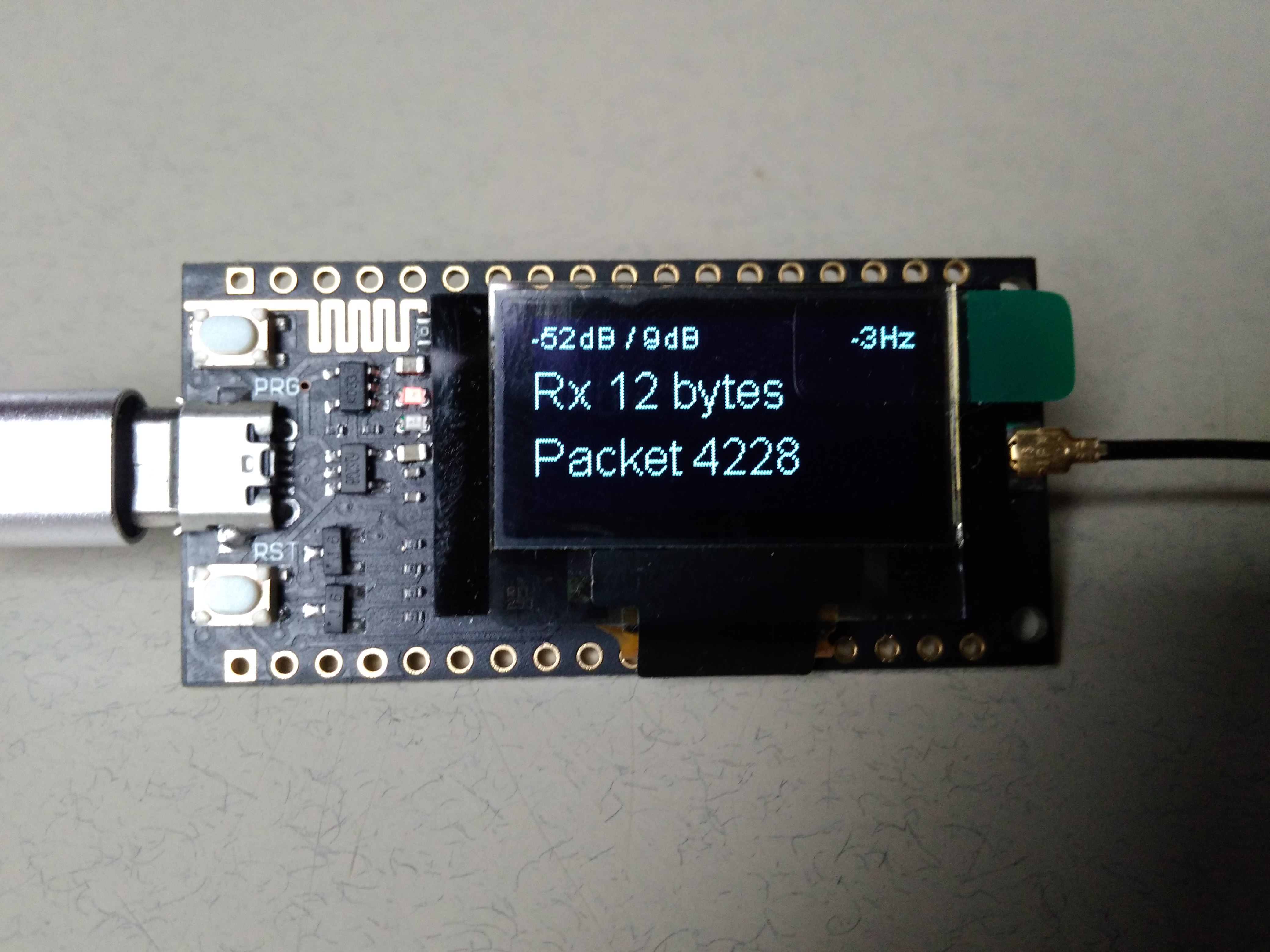 ESP32 - LoRa - OLED Module | Hackaday io