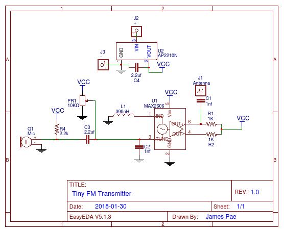 Tiny FM transmitter   Hackaday io