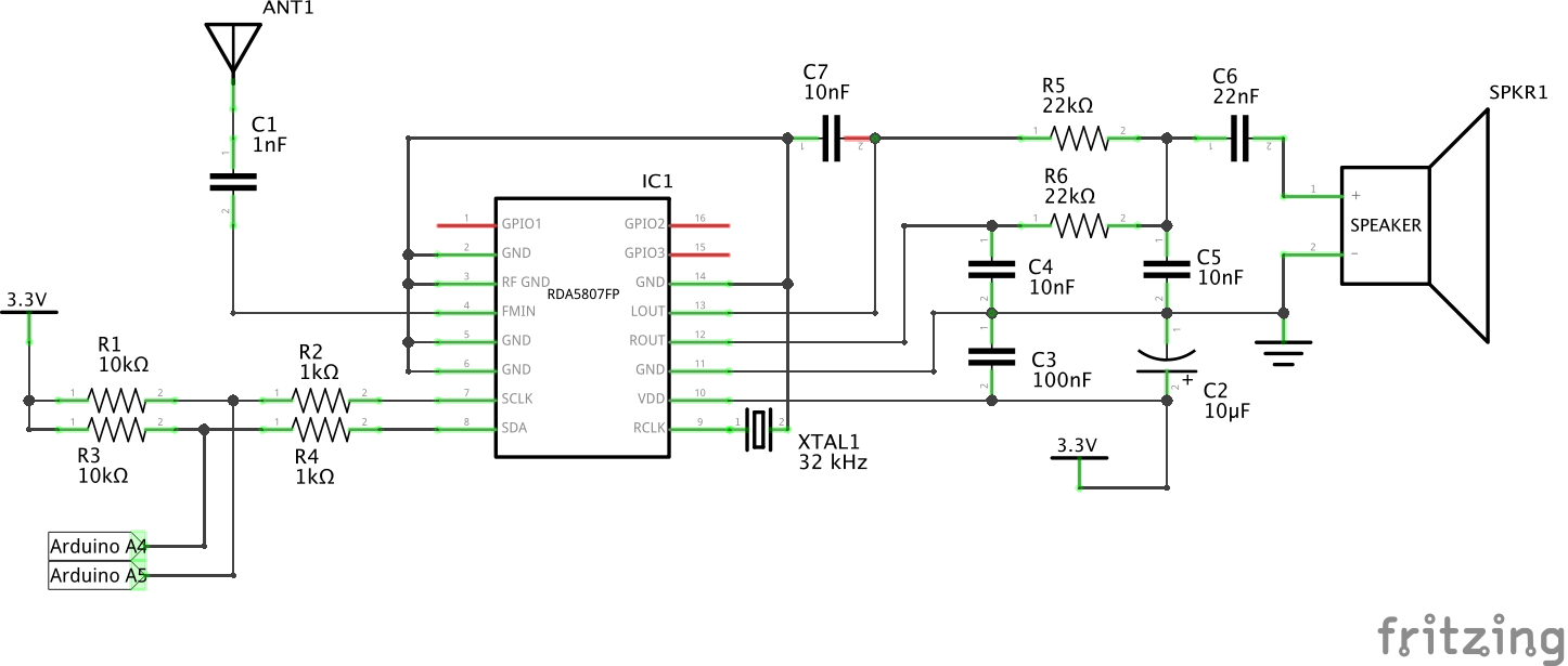 Arduino Radio With Rds Fm Circuit Diagram Download