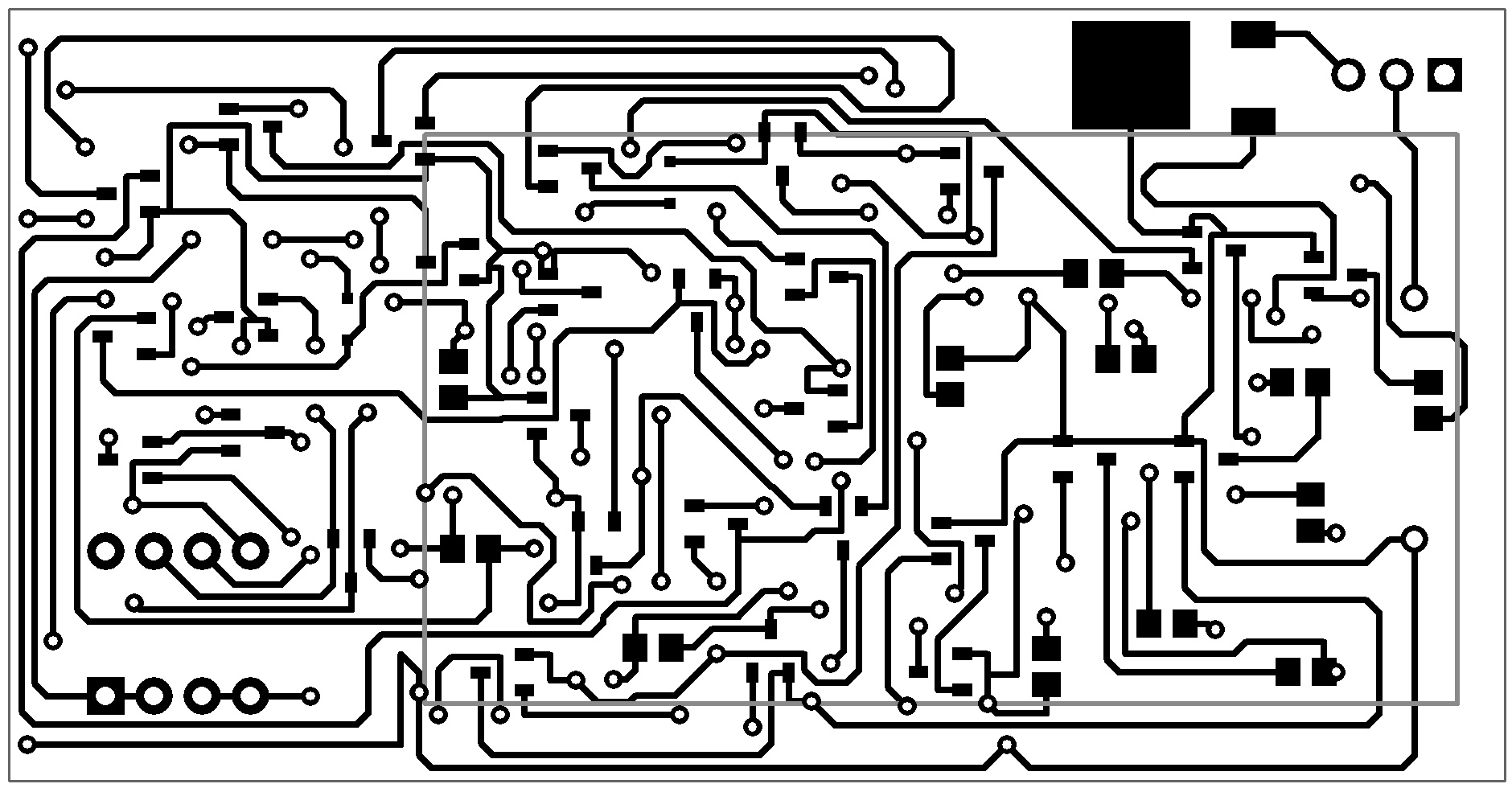 Discrete Binary To 7 Segment Display Clock Circuit Diagram Bottom Layer