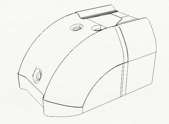 Composite Motorcycle Skidplate Designs