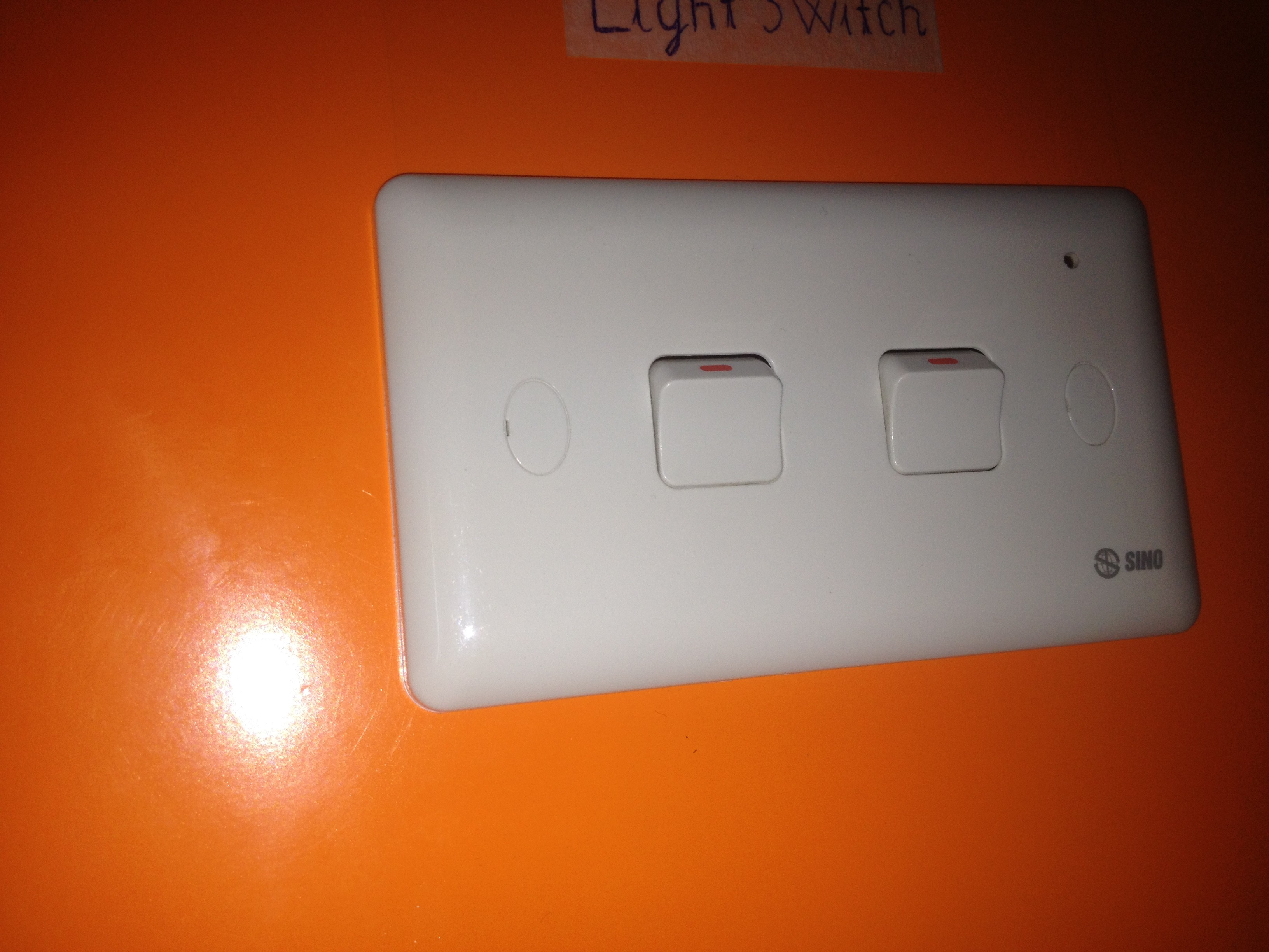 Light Switch Precarious Details 3 Problem Video