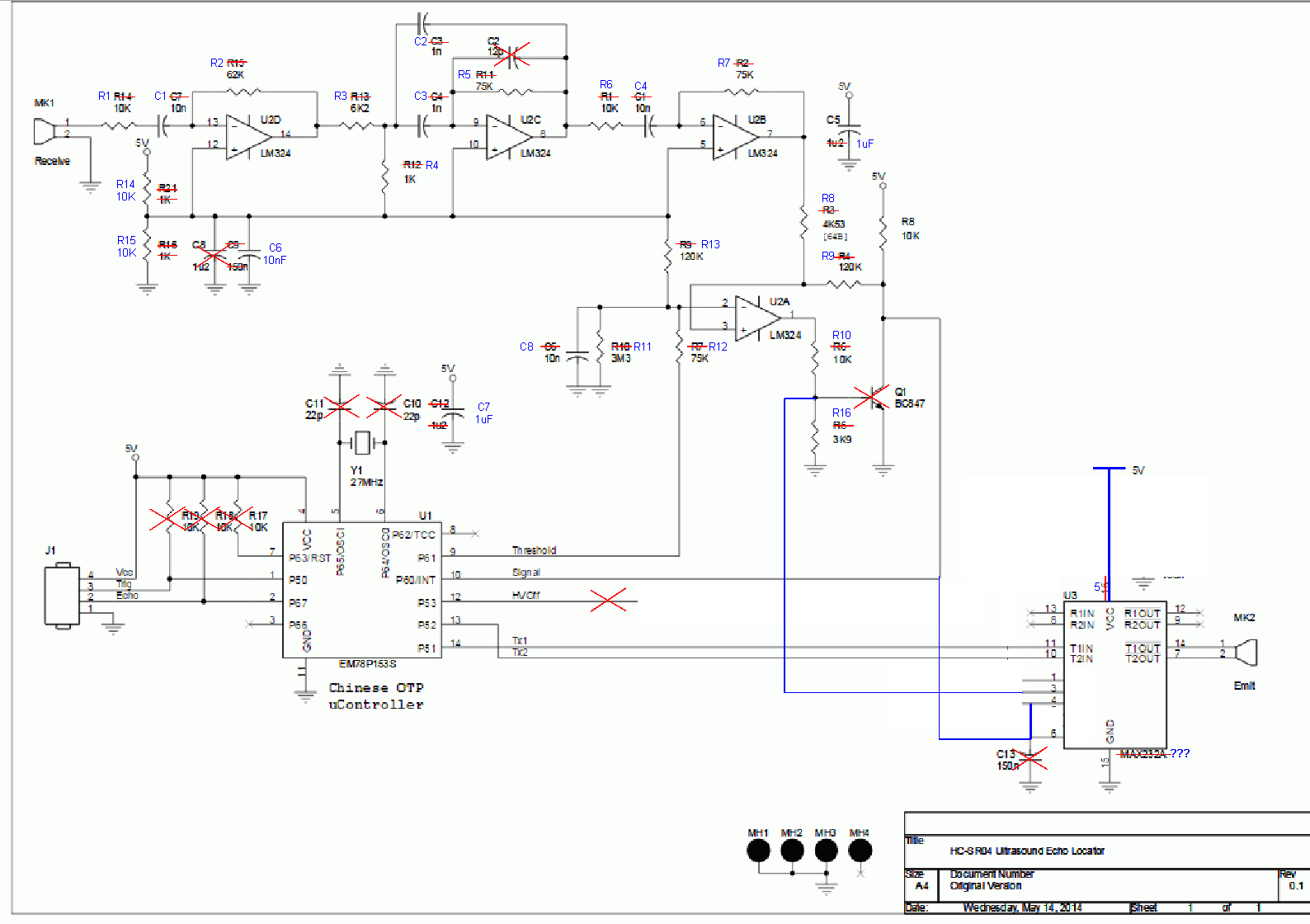 Motion Sensor Wiring Diagram Manual Of 2 Way Switch Hc Sr04 Circuit Schematic And Schematics