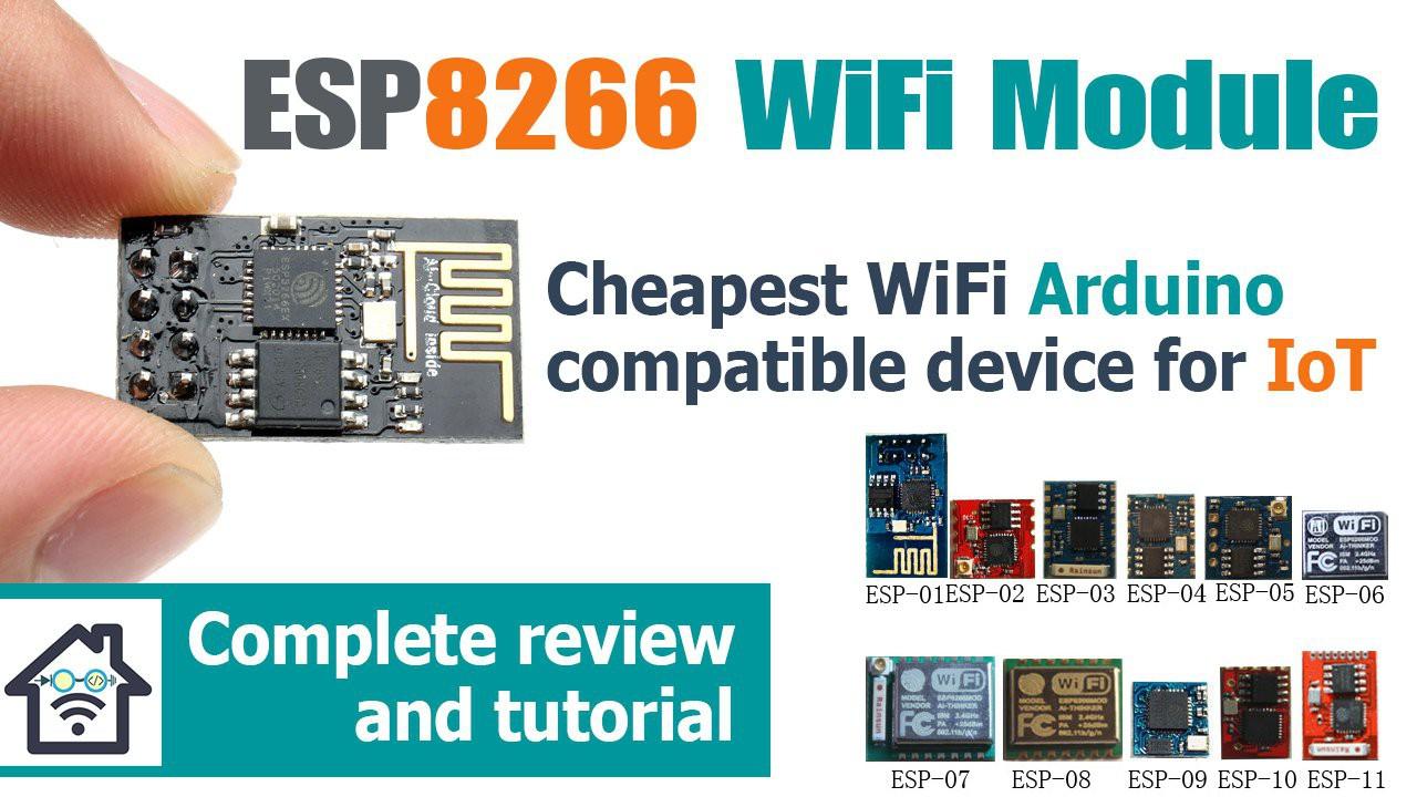 Gallery | ESP8266 Arduino Tutorial and Review | Hackaday io