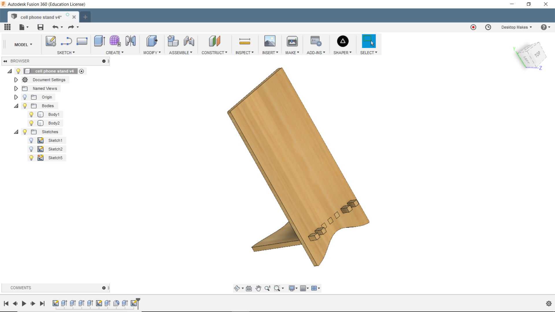 Instructions | Export a DXF File in Fusion 360 | Hackaday io
