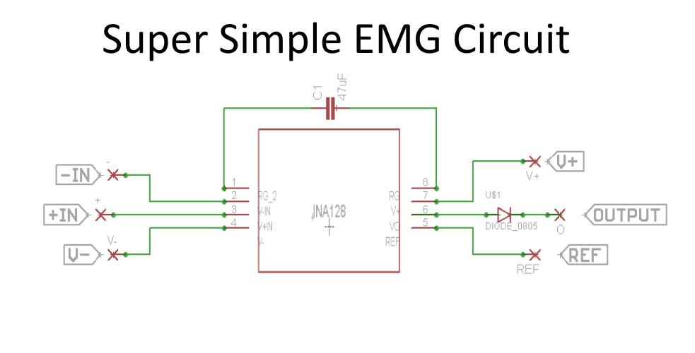 Super Simple Muscle Emg Sensor Hackaday Io