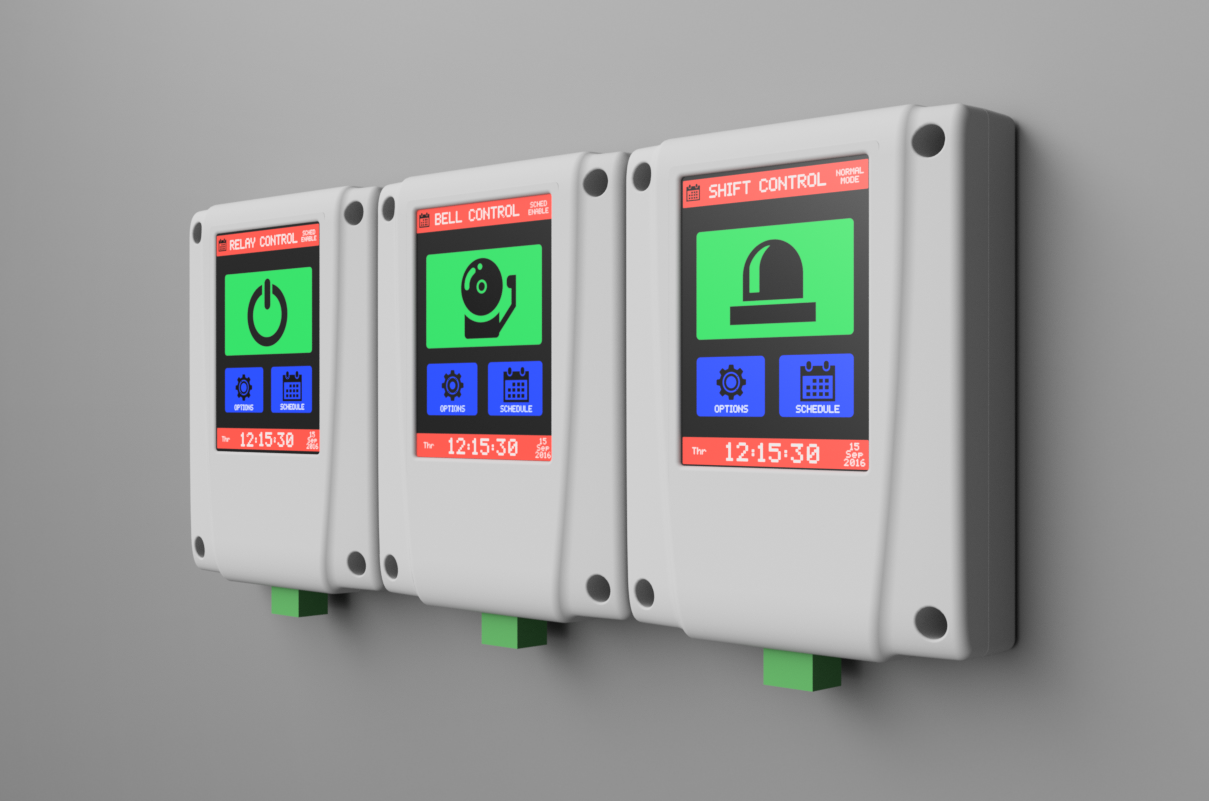 Tick Tock Timer Circuit Breaker Interface Units Some Of The 3d Renders Done In Fusion 360