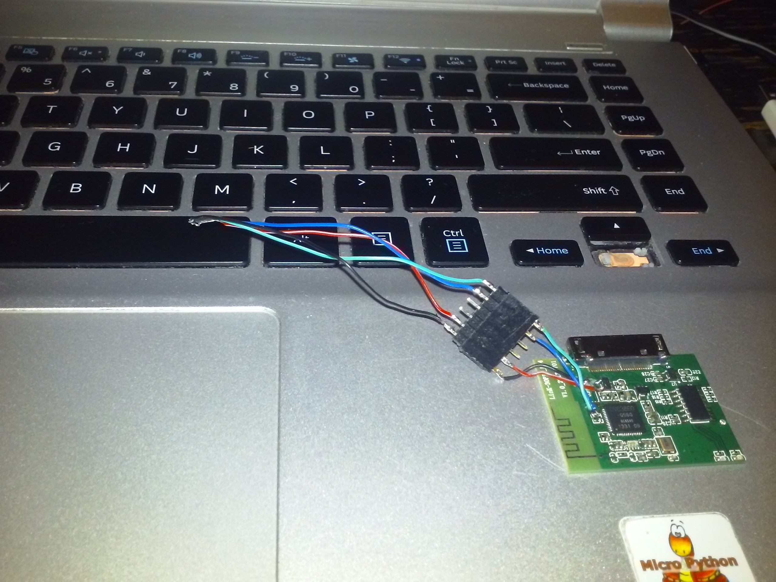 Reflashing I2C EEPROMs while hacking an OVC3860 Bluetooth