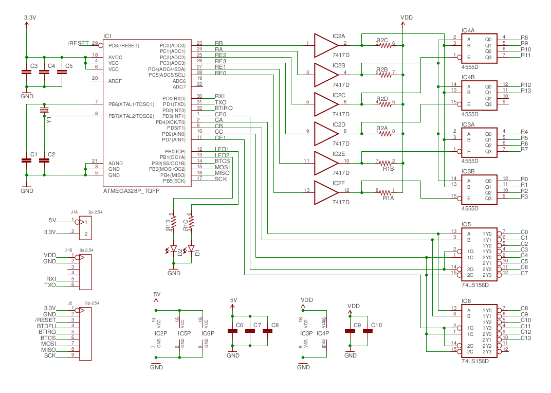 Interface circuit design | Details | Hackaday.io