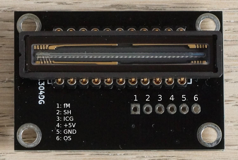 Linear CCD module | Hackaday io