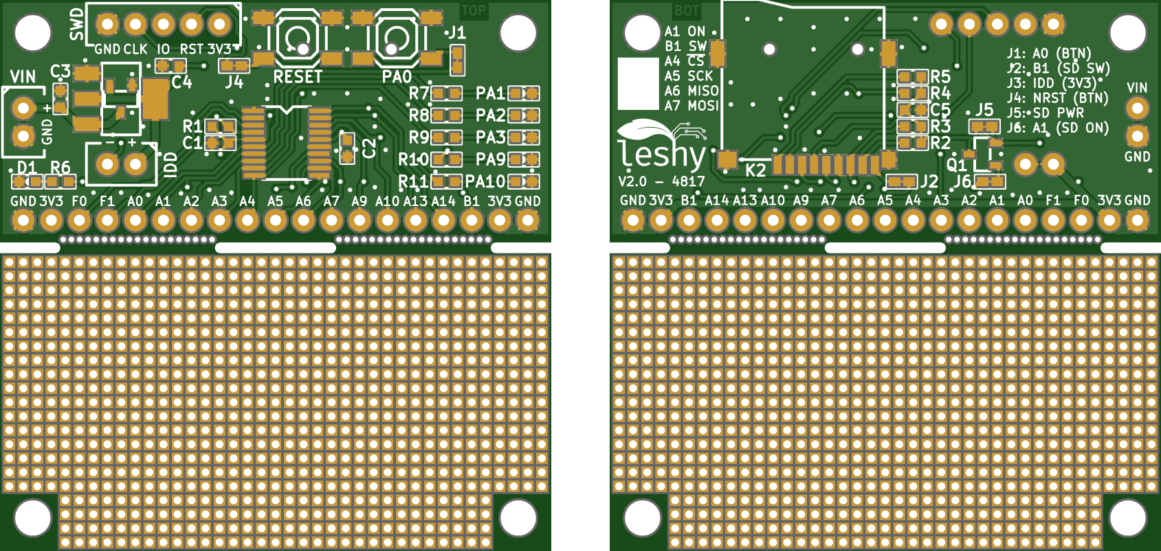 leshy – Less Expensive STM32F0-Hosting Prototypes | Hackaday io