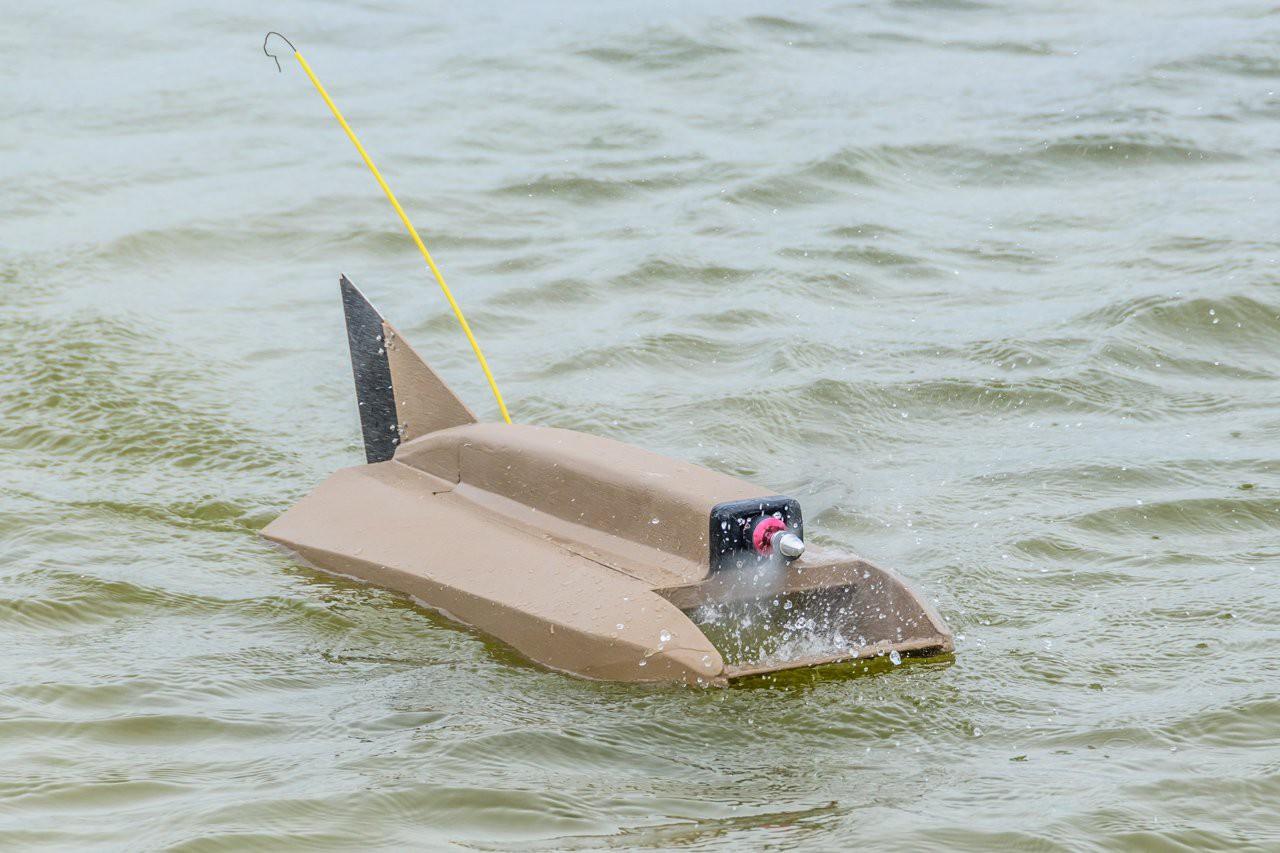 Project | Airscrew Driven RC Boat | Hackaday io