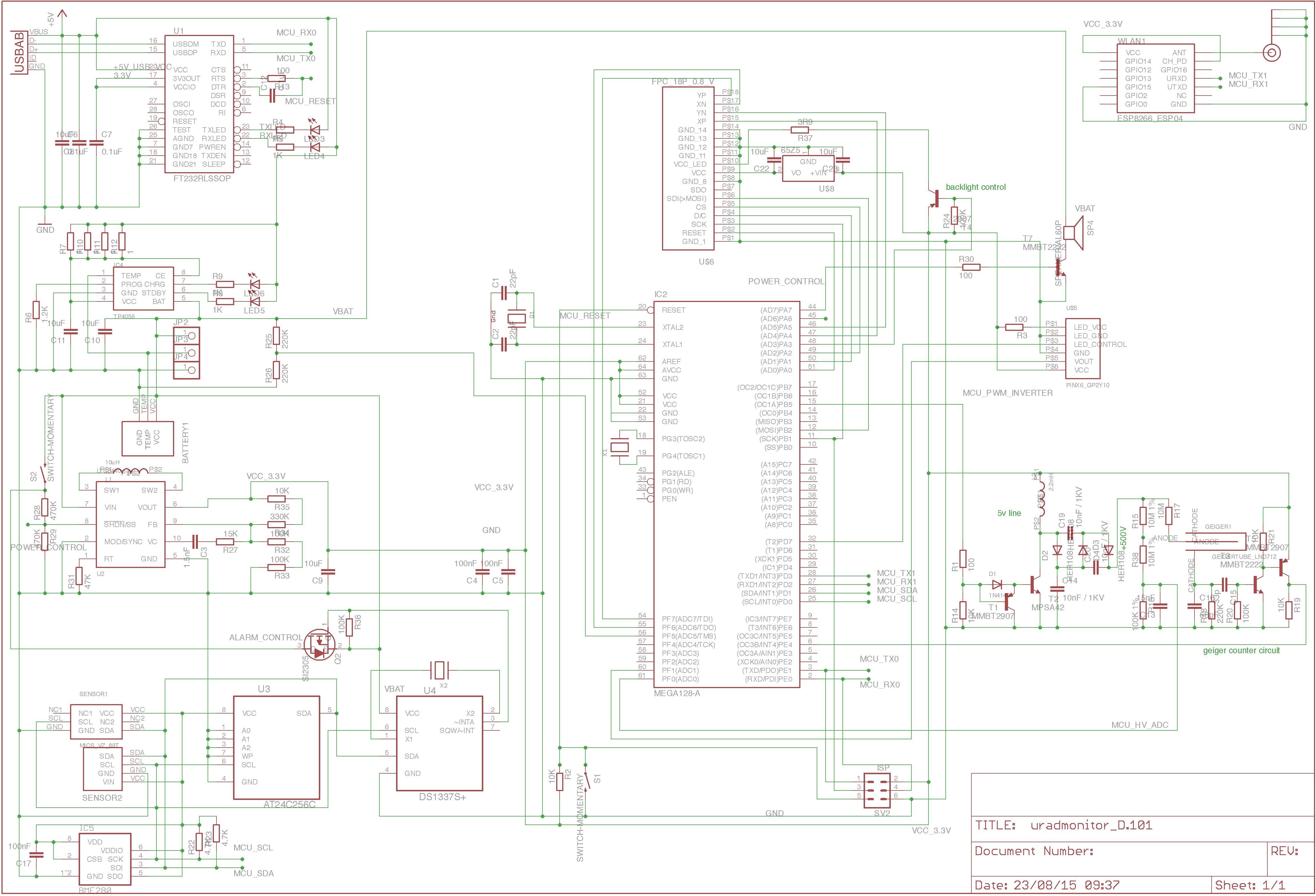 Post Beta Hardware Iteration Details Geiger Counter Circuit For Now I Need To Order The Pcbs And Few Missing Sensors Components New Diagram Shows Involved
