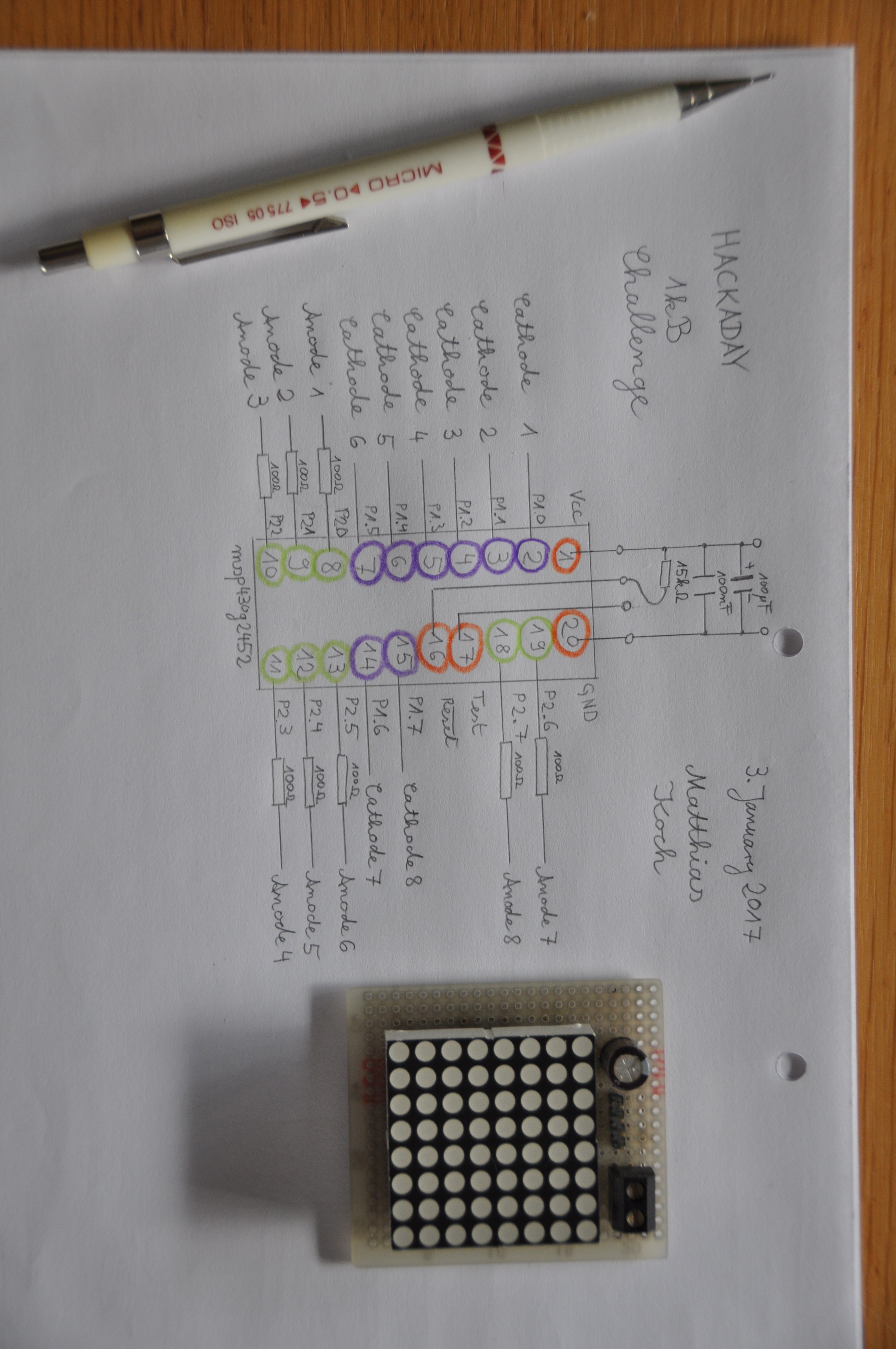 LEDs as photodiodes for 1 kB challenge | Details | Hackaday io