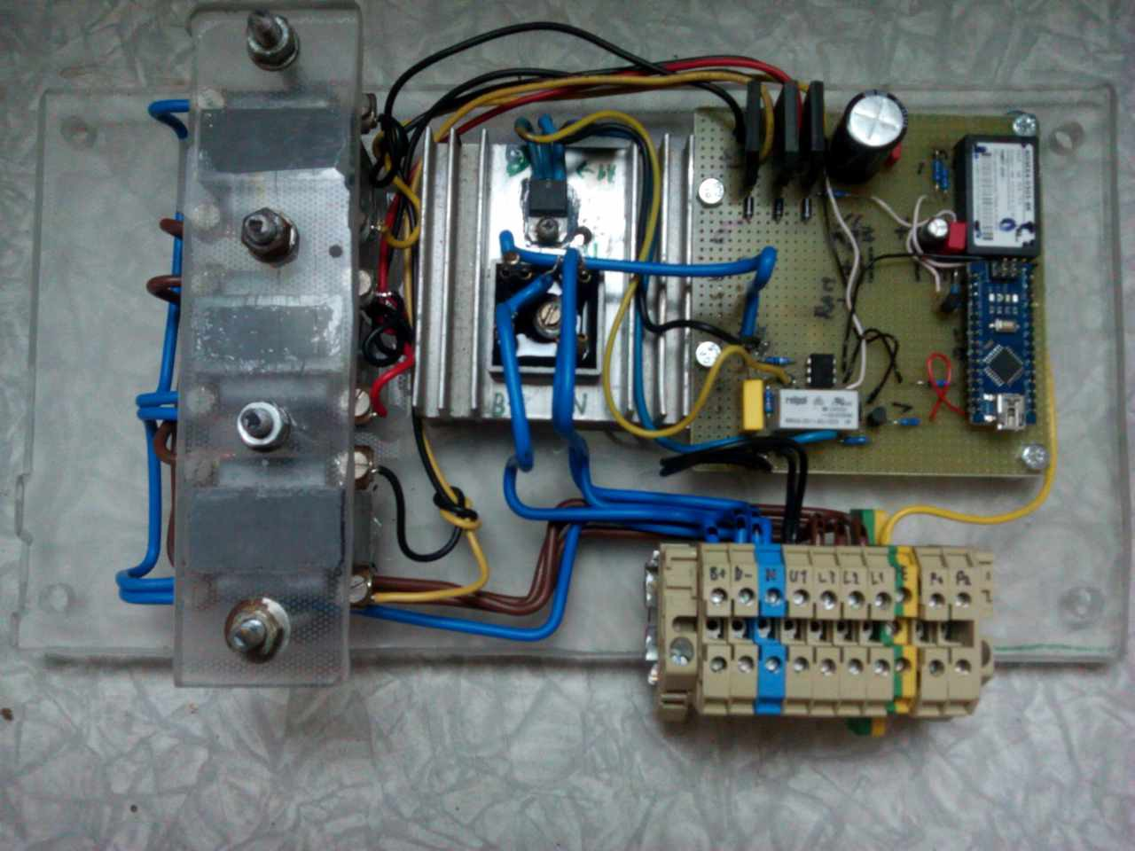 Automatic Voltage Regulator For Ac Alternator Avr Circuit Homemade Projects Relay Is Now Switched Off By Software Will Update Schematic After Finished