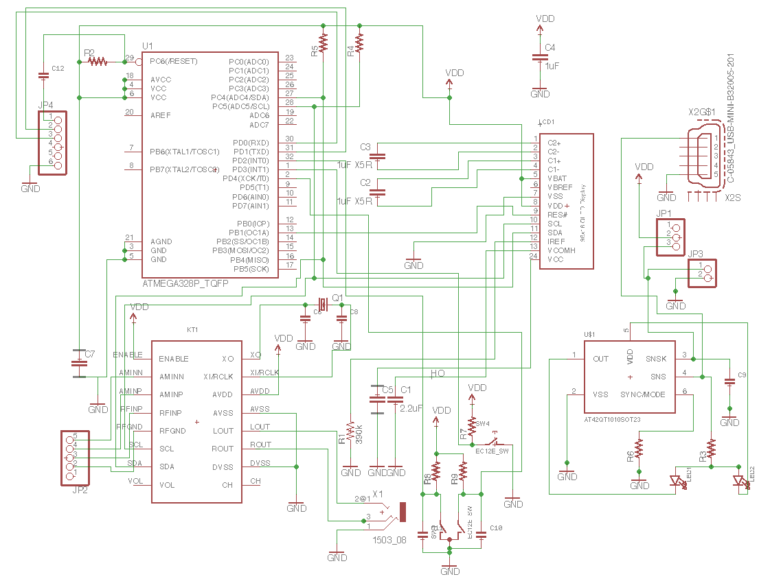 Radio Yes Am Sw Fm By Dsp Chip Wiring Diagram Together With Receiver Circuit On This Is The Whole Schematic In I Should Point Out At42qt Right Down Part Just Put To Use Sot23 6 Form Factor And Real Parts