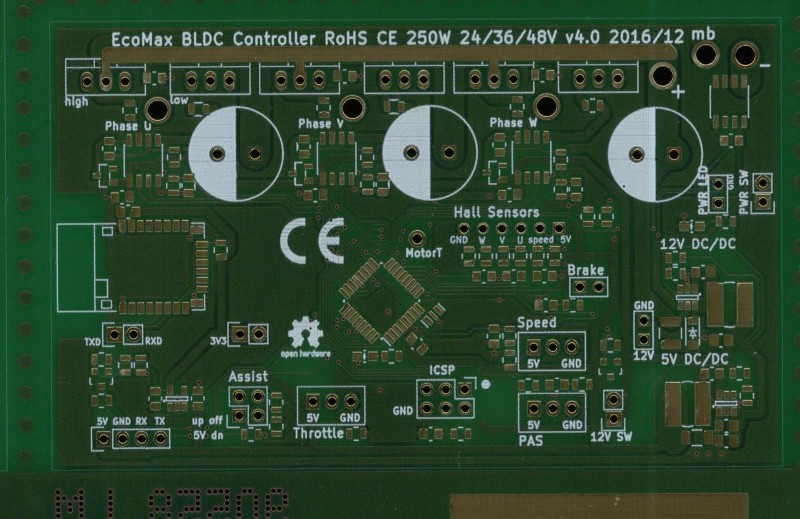 Smart BLDC controller for eBikes with BLE | Hackaday io