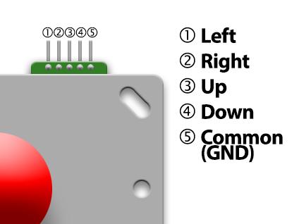 raspberry pi portable arcade console hackaday io rh hackaday io Wiring Diagram Key Xbox 360 Joystick Wireing
