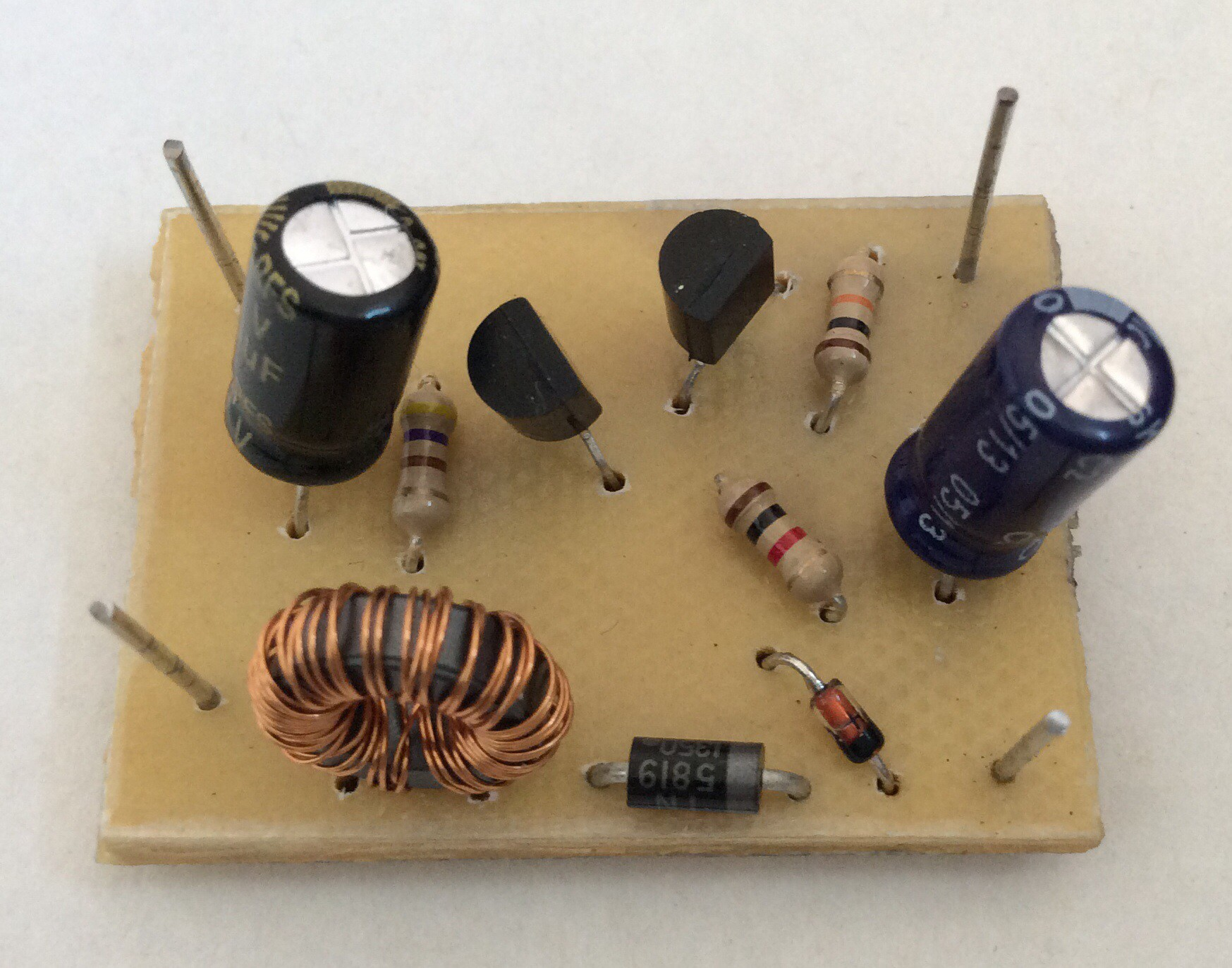 joule thief with regulated output details hackaday ioJoule Thief High Efficiency Led With 15 Volts #14
