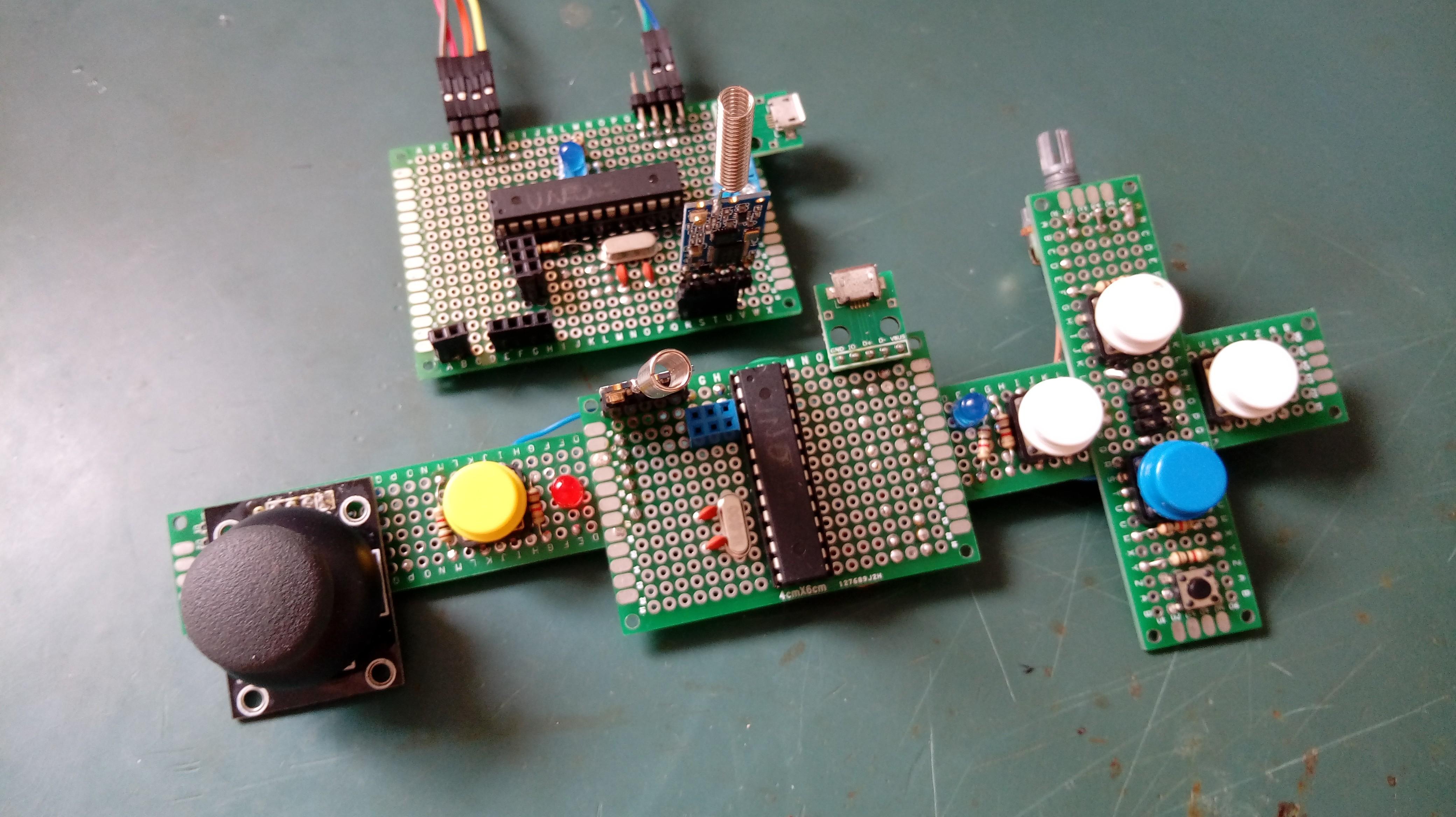 DIY remote controller for RC vehicles | Hackaday io