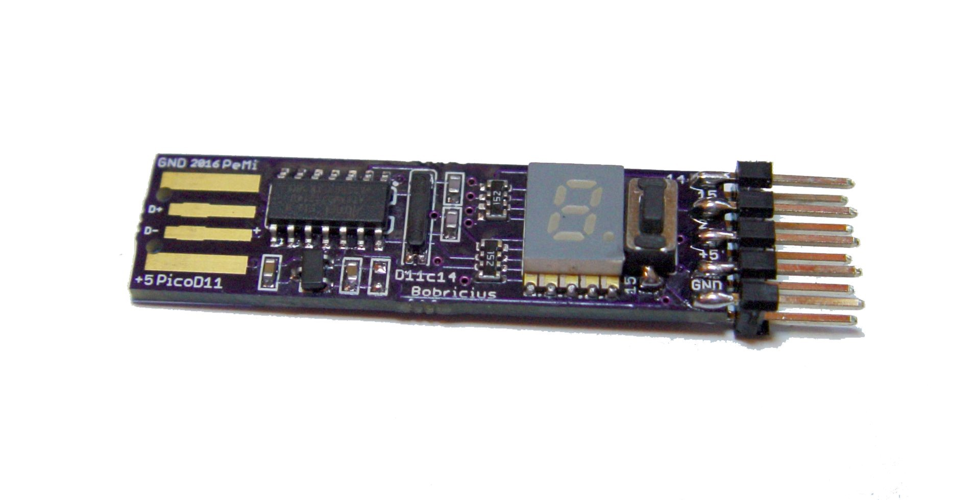 Gallery dixi arduino sam d usb stick hackaday