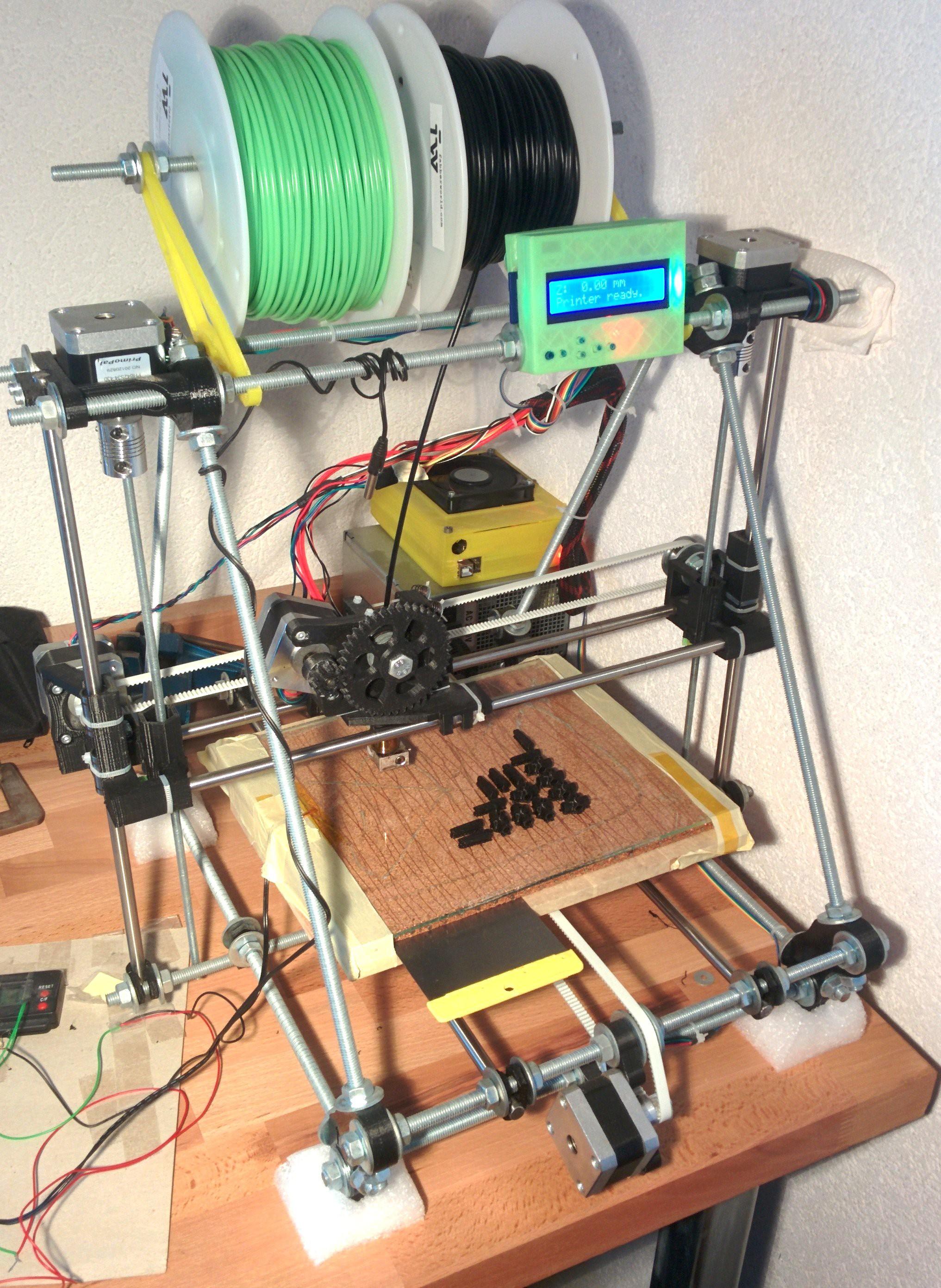 3D printer (reprap/prusa)