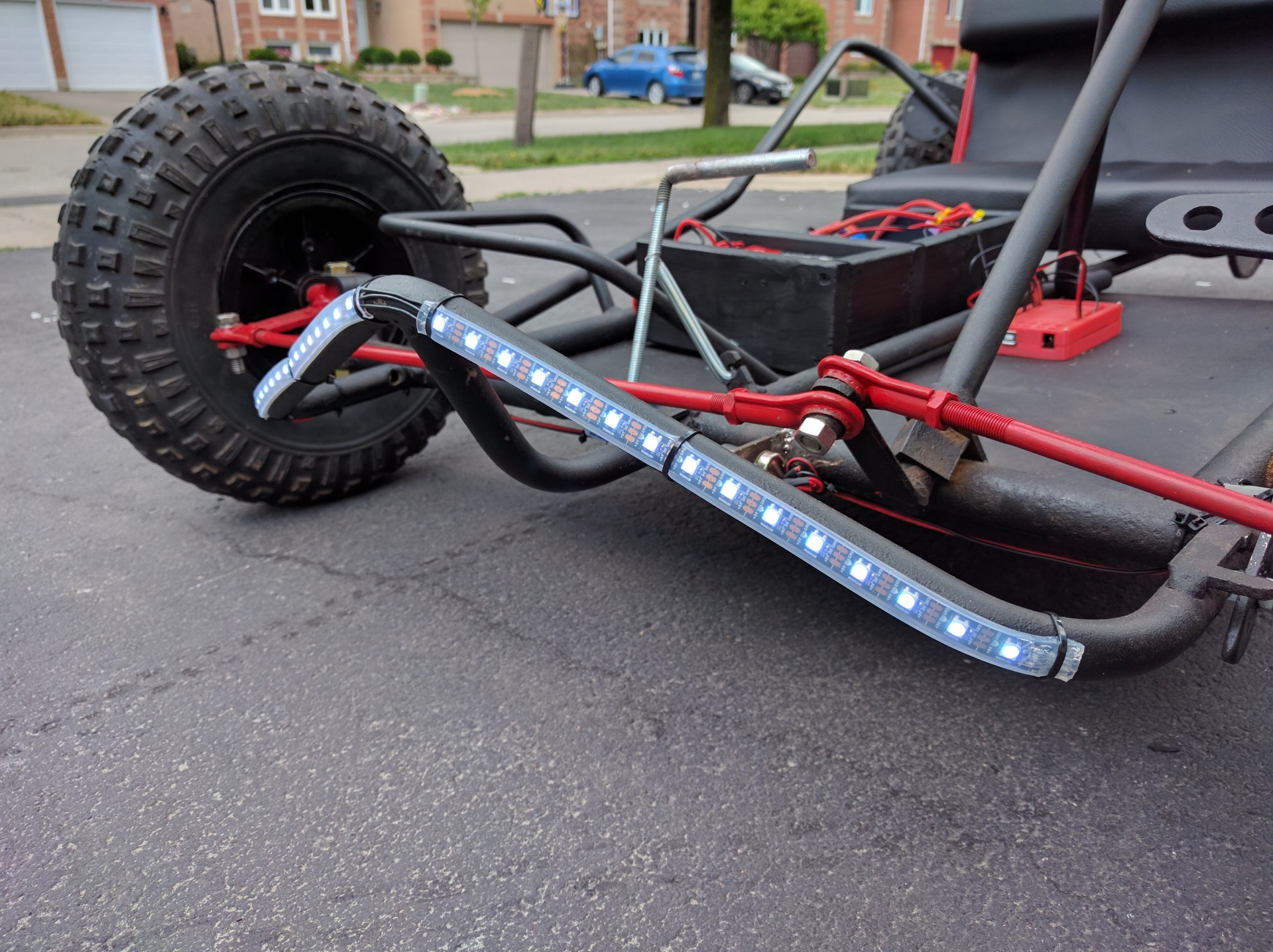 Front Lights Installed