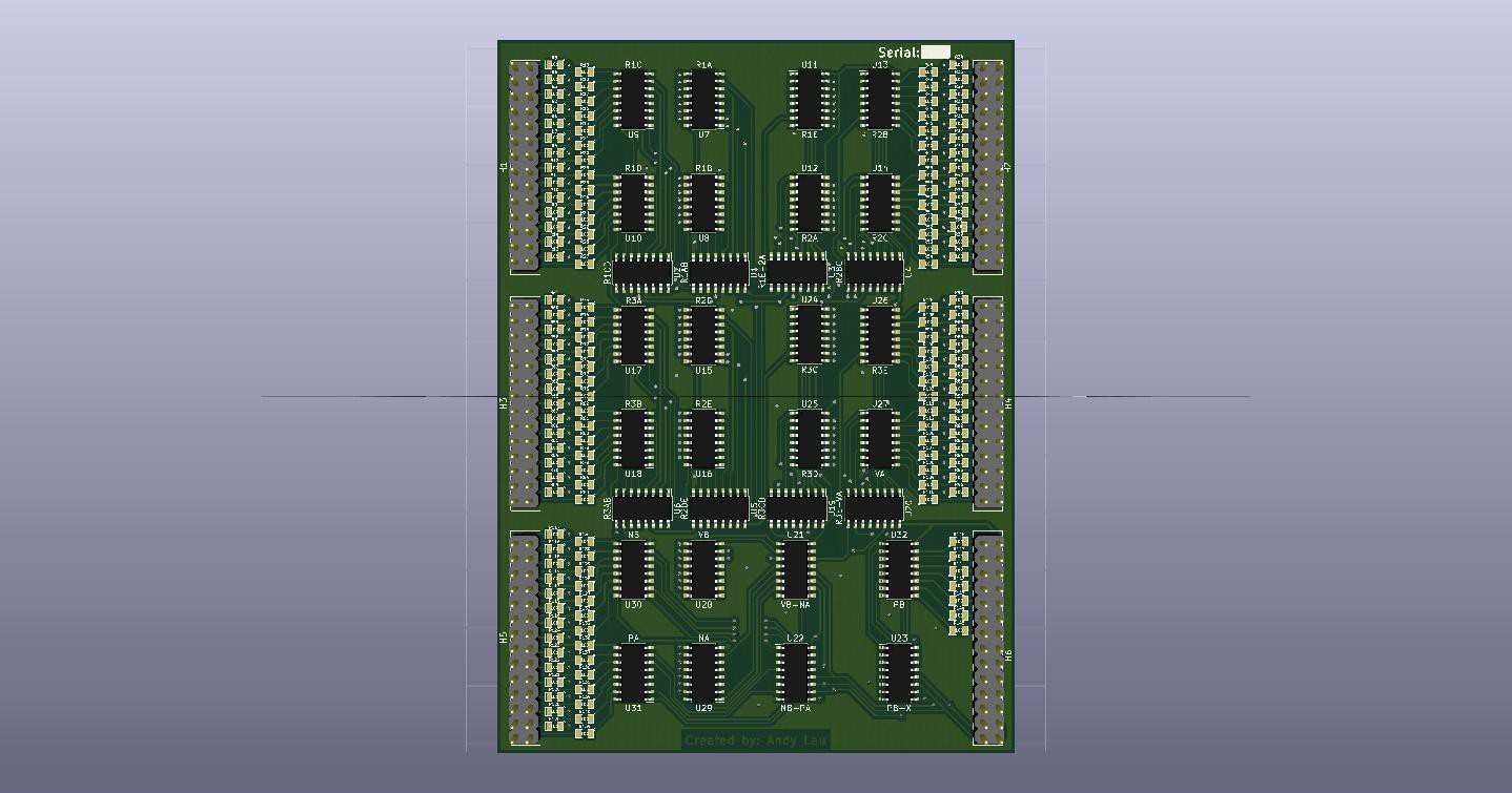 Project Open Source Dsky Counter Using 7 Segment Display Public Circuit Online The Micro Controller Second Is Drivers And Last Images Will Show Both Front Back For Each Pcb