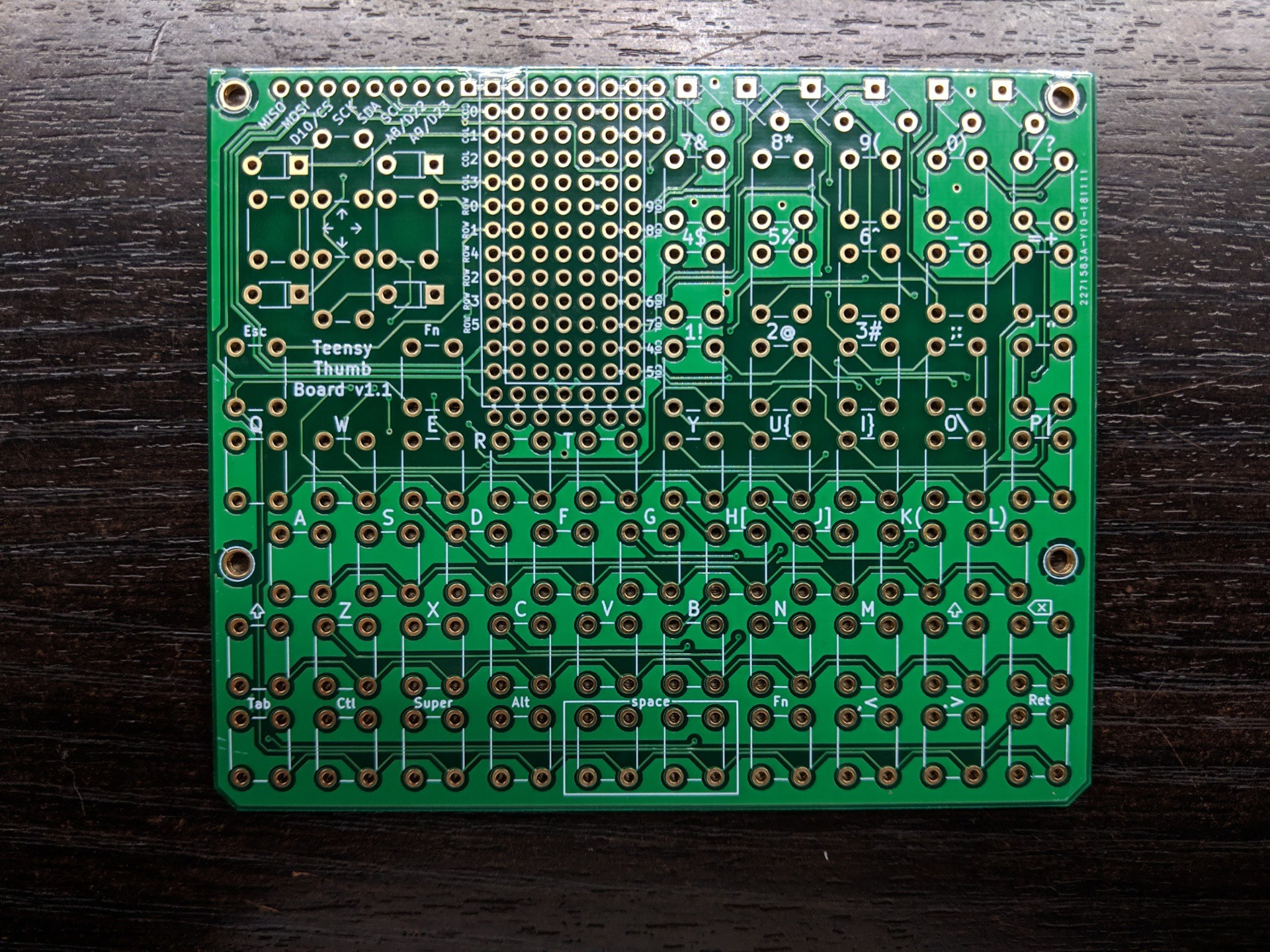 Teensy Thumb Keyboard | Hackaday io