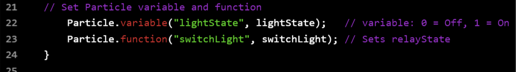 Project | Particle Photon Wi-Fi and Cap-Touch Light Switch
