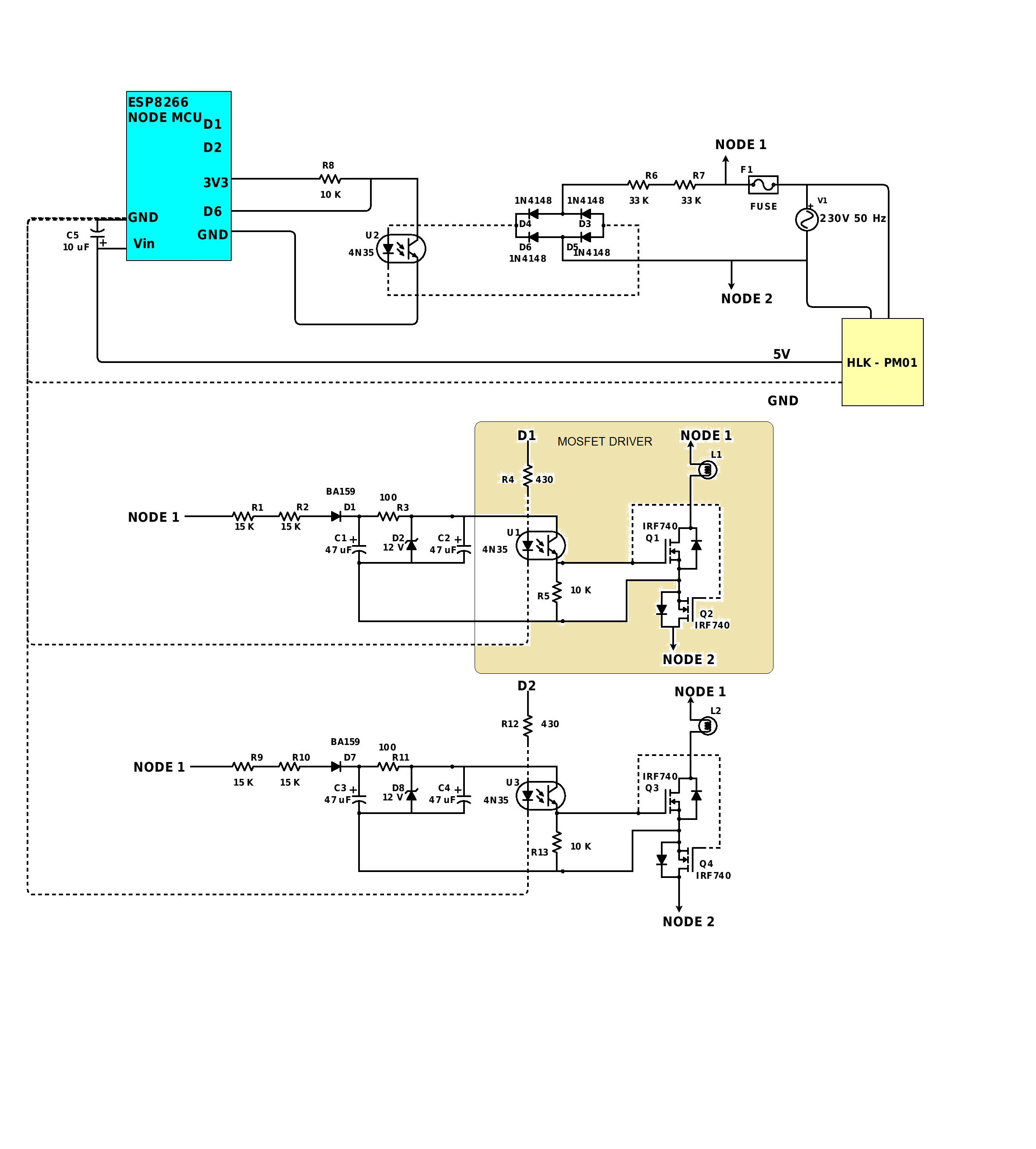 Multichannel Wireless Light Dimmer | Details | Hackaday io