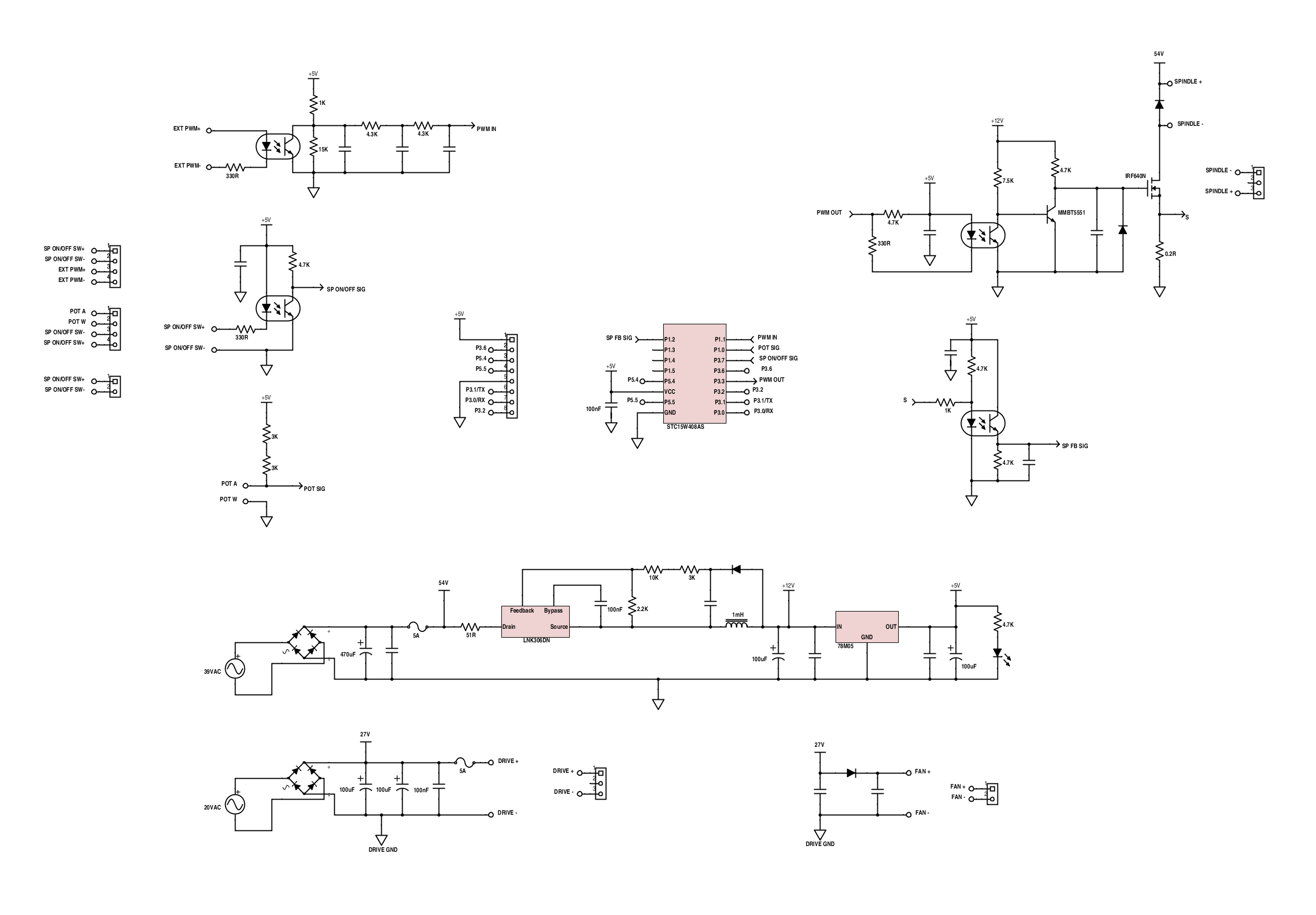 project logs • 3040 cnc milling machine mods • hackaday io jp 1482 spindle controller schematic