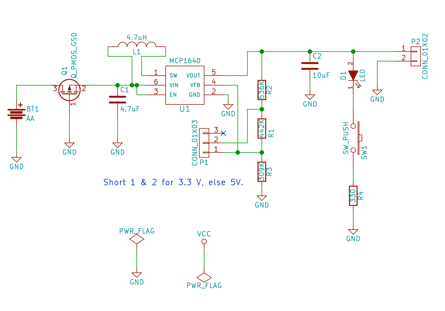 Aaboost Led Circuit 1 5 Volt Flasher 3 Lm3909 Schematic