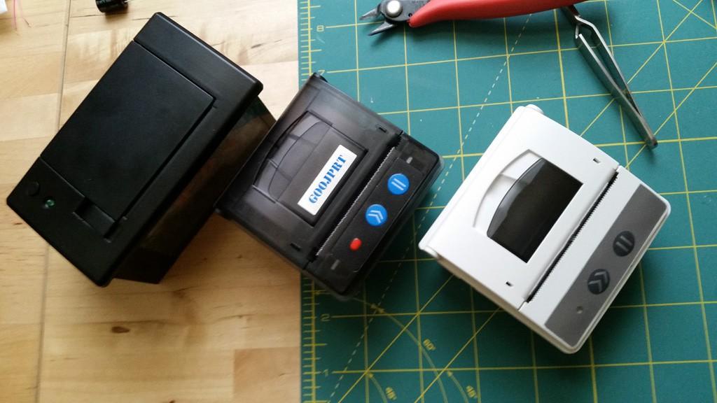 HP 82240B IR Receiver and Printer Interface | Hackaday io