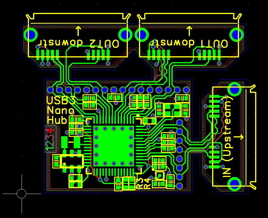 Nanohub - tiny USB 2 0 and 3 0 hubs! | Hackaday io
