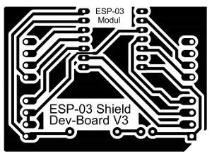ESP-03 Shield