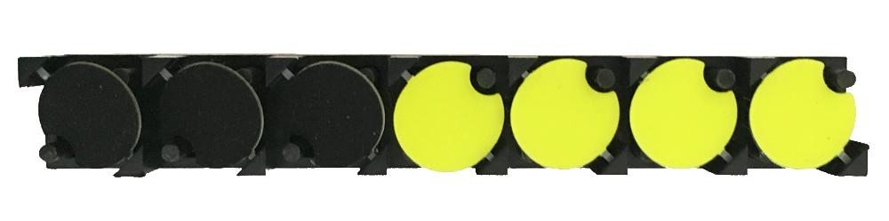 7×1 FlipDots