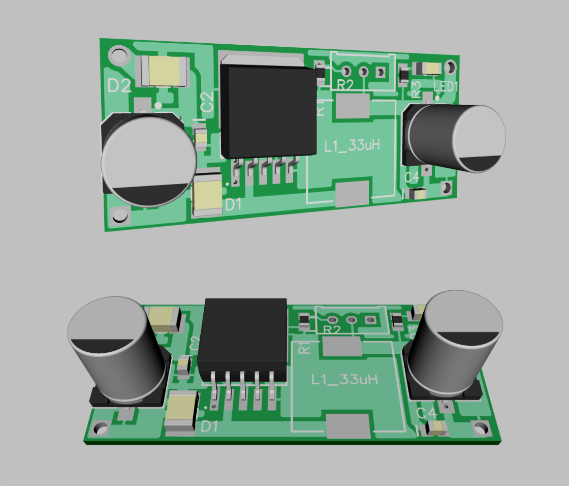 Brian Box Looking For A Red Laser Diode Circuit Controlablelm317components01 I Added The Schematic In Files Area Also Made Two Quick Renders Of Layout One Is Including Connector And Other