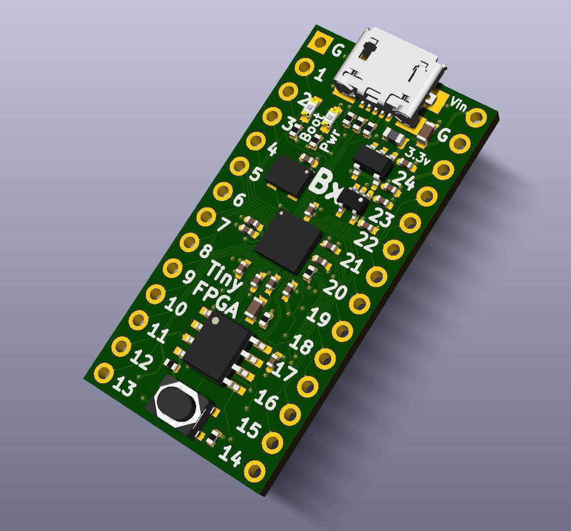 TinyFPGA B-Series | Hackaday io