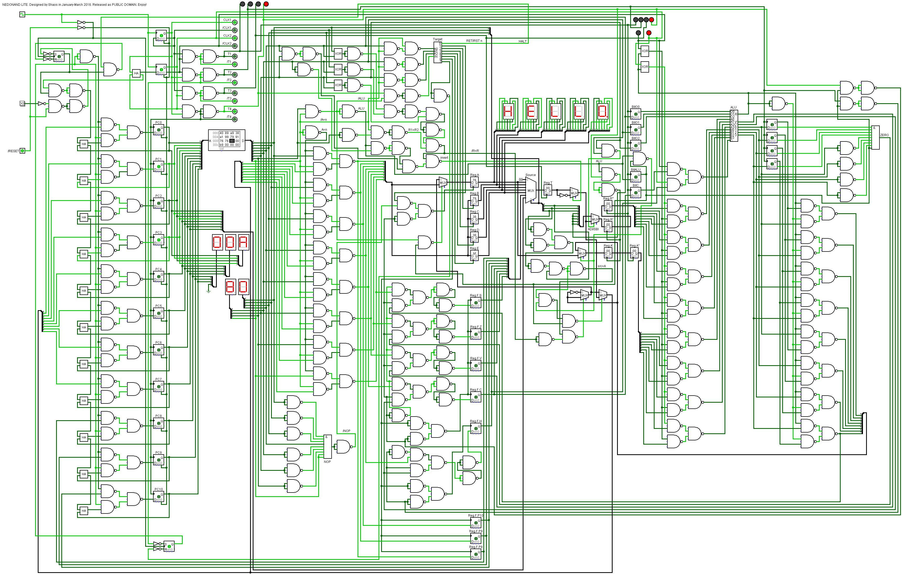 NEDONAND lite simulation is ready   Details   Hackaday io